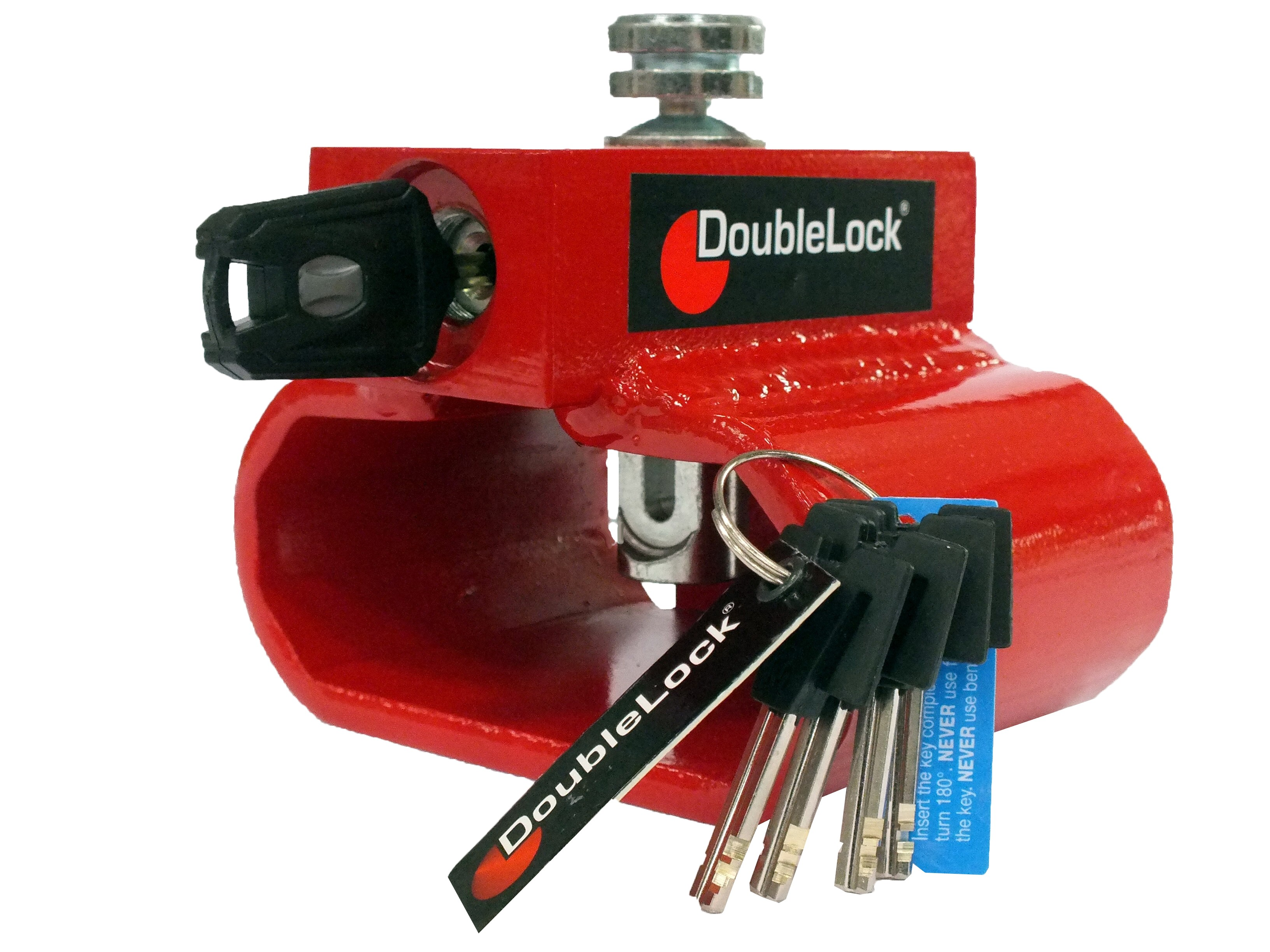 DoubleLock Triangle Lock RED KA