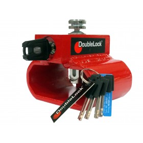 DoubleLock Triangle Lock RED SCM